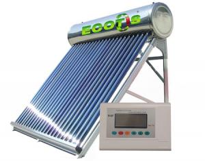 Panou solar presurizat din inox cu automatizare, capacitate 100 de litri
