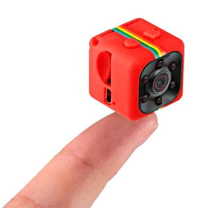 Mini Camera Spion iUni SQ11, Full HD 1080p, Audio Video, Night Vision, TV-Out, Red