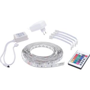 Banda LED RGB Phenom, cu telecomanda, 36W, 420 lm, 12V, IP20, lumina colorata, 5m